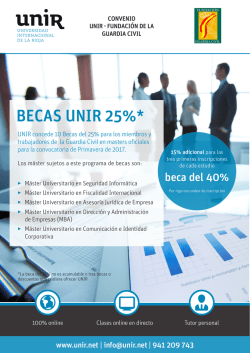 Becas-FUNDACION GC 25+15 - Fundación Guardia Civil