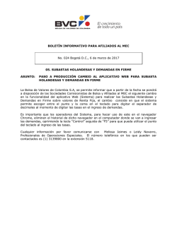 boletin_2017_03_06_No_024 - Bolsa de Valores de Colombia