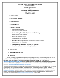 TAB Agenda 3-6-17 - City of Loveland