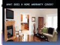 What Does A Home Warranty Cover