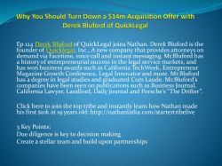Why You Should Turn Down a $14m Acquisition Offer with Derek Bluford of QuickLegal