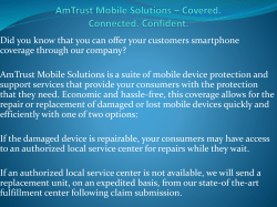 AmTrust Mobile Solutions – Covered. Connected. Confident