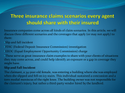 Three insurance claims scenarios every agent should share with their insured