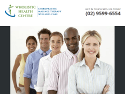 Wholistic Health Centre - Australia