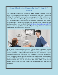 Some Effective And Successful tips To Search A Dentist converted