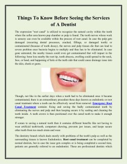 Things To Know Before Seeing the Services of A Dentist