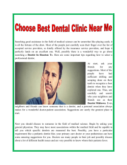 Choose Best Dental Clinic Near Me