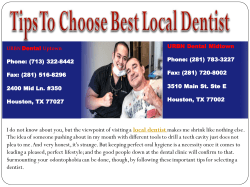 Tips To Choose Best Local Dentist