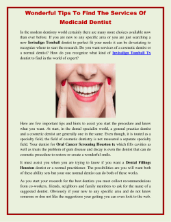 Wonderful Tips To Find The Services Of Medicaid Dentist